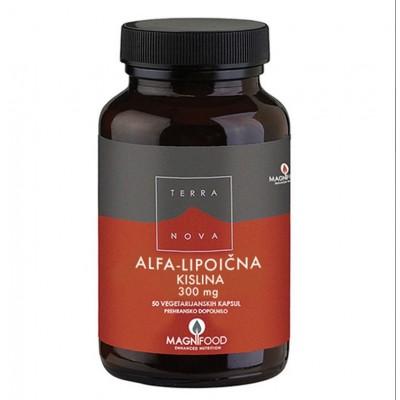 Alfa-lipoična kislina 300mg, 50 kap