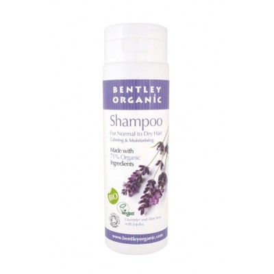 Bio šampon za normalne in suhe lase - sivka 250ml