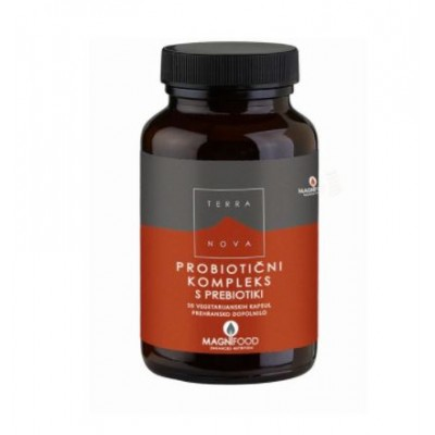 Probiotični kompleks s prebiotiki, 100 kapsul