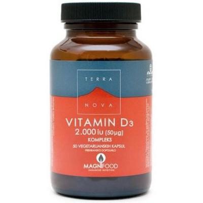 Vitamin D3 2000 i.u. (50ug) kompleks 50 kapsul